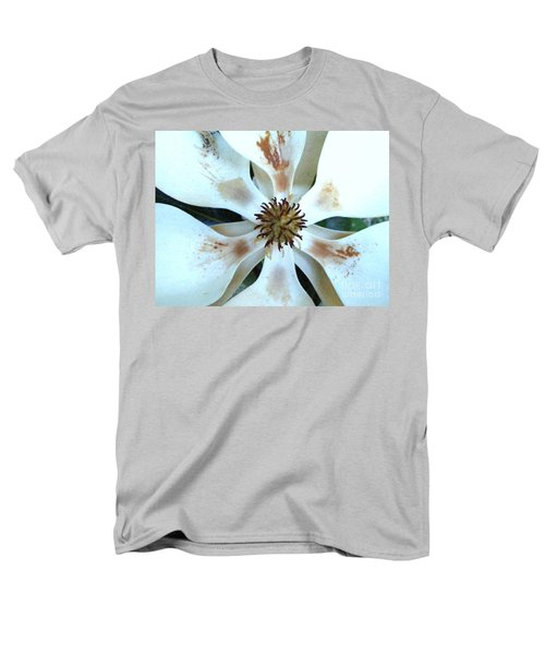 Magnolia Pinwheel Men's T-Shirt  (Regular Fit) by Nancy Kane Chapman