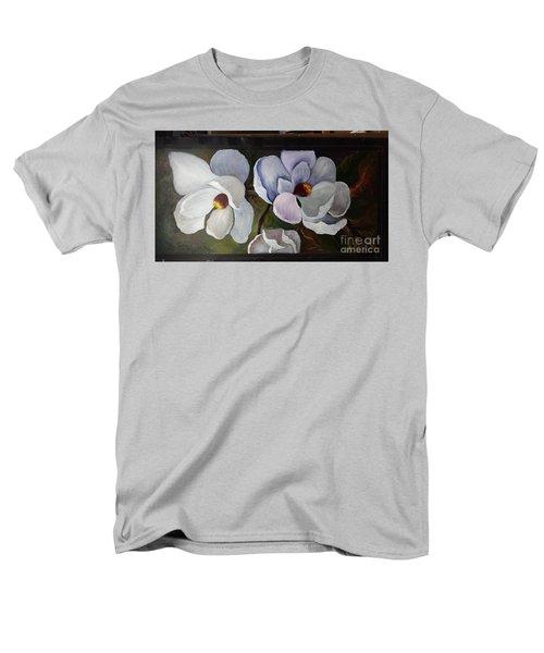 Magnolias White Flower Men's T-Shirt  (Regular Fit)