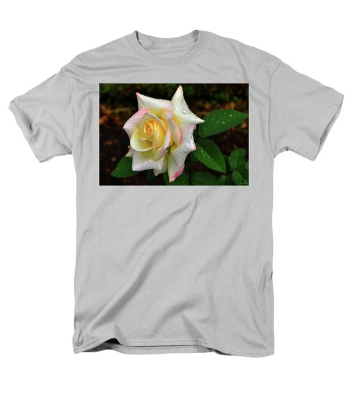 Men's T-Shirt  (Regular Fit) featuring the photograph Maid Of Honour Rose 003 by George Bostian