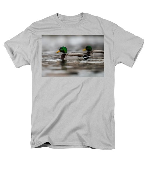 Mallard Men's T-Shirt  (Regular Fit) by Paul Freidlund
