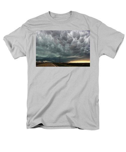 Men's T-Shirt  (Regular Fit) featuring the photograph Mammatus Over Montata by Ryan Crouse