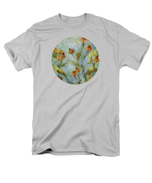 Men's T-Shirt  (Regular Fit) featuring the painting Mary's Garden by Mary Wolf