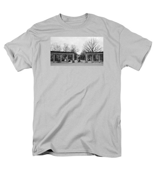 Mcgill Gates Men's T-Shirt  (Regular Fit) by Reb Frost