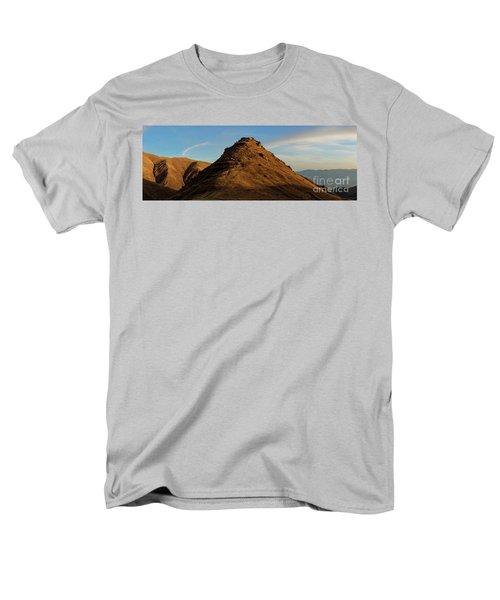 Medieval Proshaberd Fortress On The Top Of The Hill, Armenia Men's T-Shirt  (Regular Fit) by Gurgen Bakhshetsyan