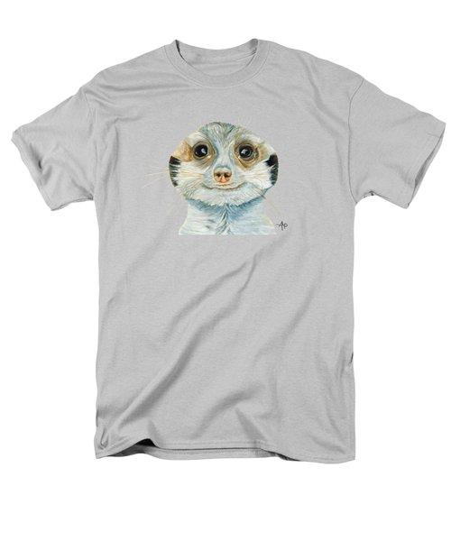 Meerkat Men's T-Shirt  (Regular Fit) by Angeles M Pomata