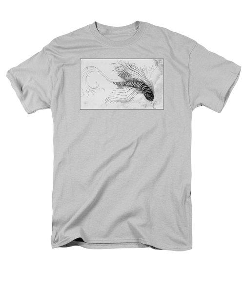 Men's T-Shirt  (Regular Fit) featuring the drawing Megic Fish 3 by James Lanigan Thompson MFA