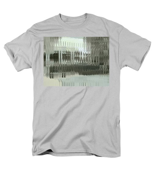 Men's T-Shirt  (Regular Fit) featuring the digital art Memory Palace - Fading by Wendy J St Christopher