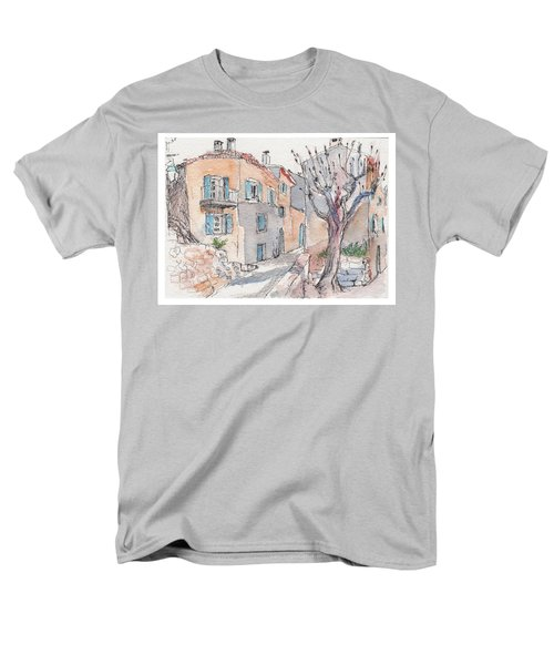 Men's T-Shirt  (Regular Fit) featuring the painting Menerbes by Tilly Strauss
