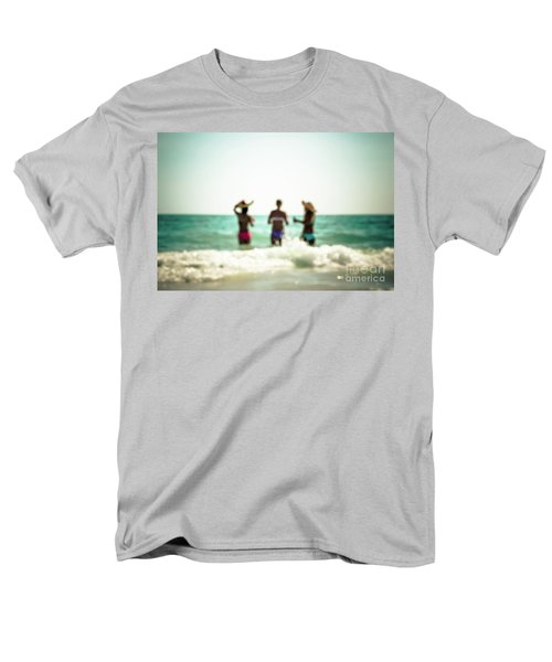 Men's T-Shirt  (Regular Fit) featuring the photograph Mermaids by Hannes Cmarits