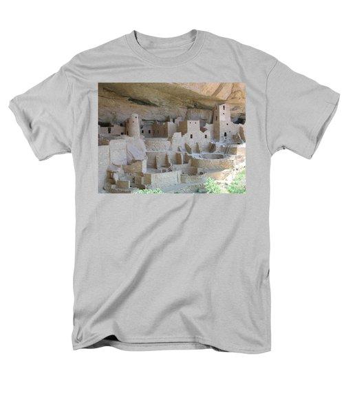 Men's T-Shirt  (Regular Fit) featuring the digital art Mesa Verde Community by Gary Baird
