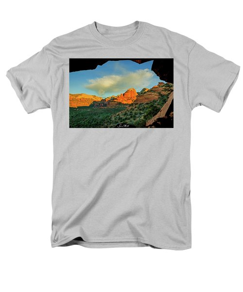 Mescal Mountain 04-012 Men's T-Shirt  (Regular Fit) by Scott McAllister