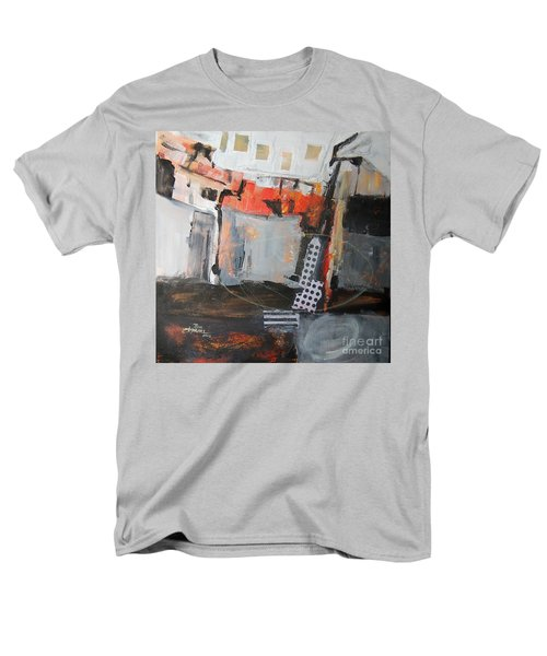 Metro Abstract Men's T-Shirt  (Regular Fit) by Ron Stephens