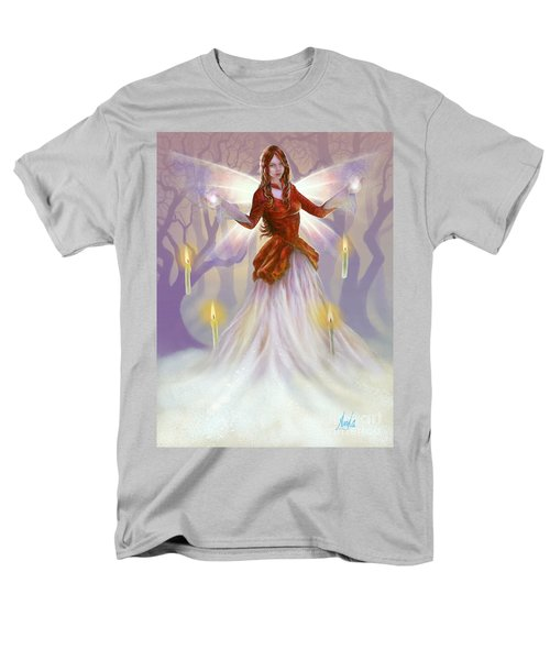 Midwinter Blessings Men's T-Shirt  (Regular Fit) by Amyla Silverflame