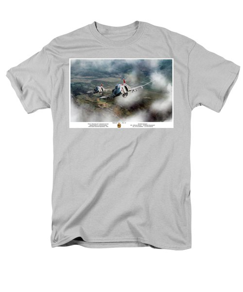 Men's T-Shirt  (Regular Fit) featuring the digital art Migcap Duty - Phu Ly by Peter Chilelli