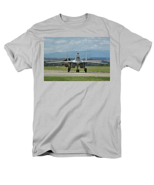 Men's T-Shirt  (Regular Fit) featuring the photograph Mikoyan-gurevich Mig-29ubs by Tim Beach