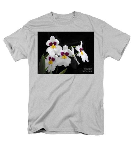 Miltonia Hybrid Orchid Men's T-Shirt  (Regular Fit) by Scott Cameron