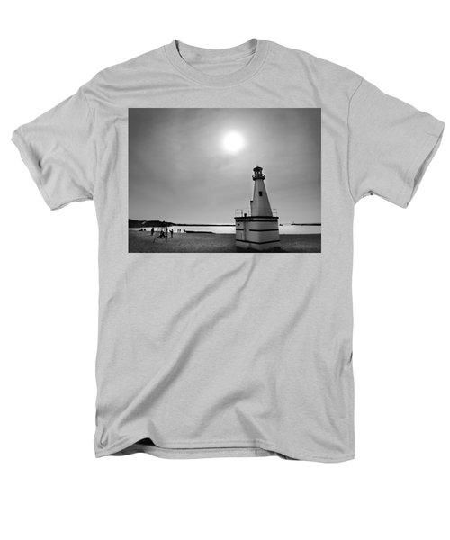 Miniature Lighthouse Men's T-Shirt  (Regular Fit) by John Hansen