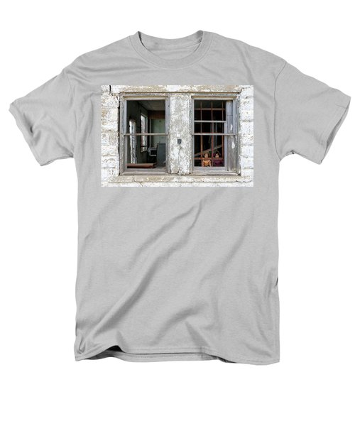 Men's T-Shirt  (Regular Fit) featuring the photograph Minimum Security by Christopher McKenzie