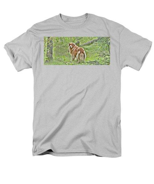 Miss B Men's T-Shirt  (Regular Fit) by Rhonda McDougall