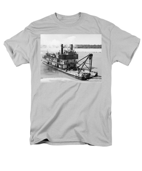 Men's T-Shirt  (Regular Fit) featuring the photograph Mississippi River Snag Boat by Granger