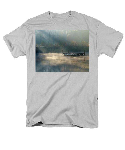 Misty Sunrise Men's T-Shirt  (Regular Fit) by George Randy Bass