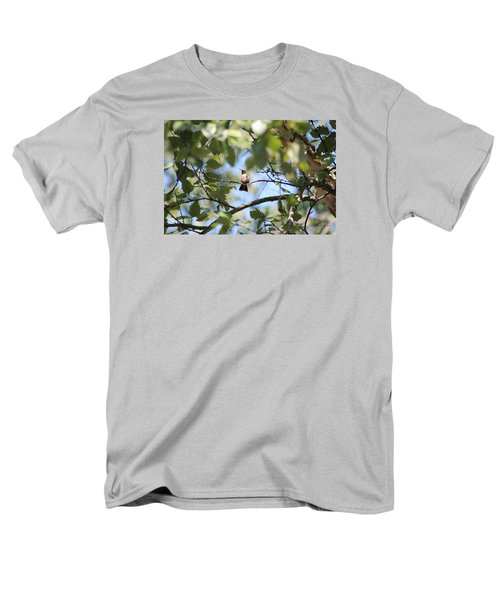 Men's T-Shirt  (Regular Fit) featuring the photograph Mommy Watching Babies by Debra     Vatalaro