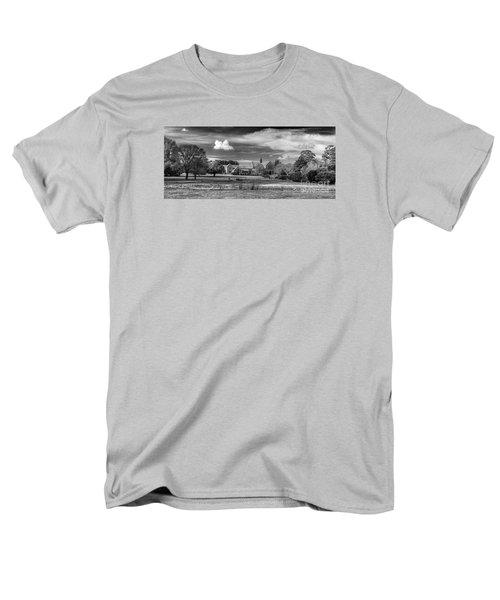 Monasterio Trapense De Azul Men's T-Shirt  (Regular Fit) by Bernardo Galmarini