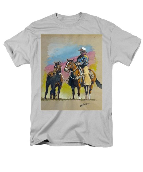 Monty Roberts Men's T-Shirt  (Regular Fit) by Bern Miller