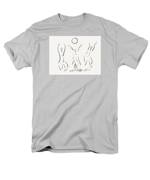 Moon Dance  Men's T-Shirt  (Regular Fit) by Karl Reid