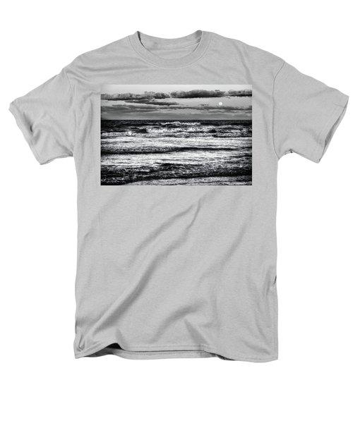 Men's T-Shirt  (Regular Fit) featuring the photograph Moon Rising  by Louis Ferreira