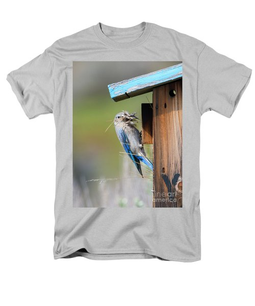 Men's T-Shirt  (Regular Fit) featuring the photograph More Than Mouthful by Mike Dawson
