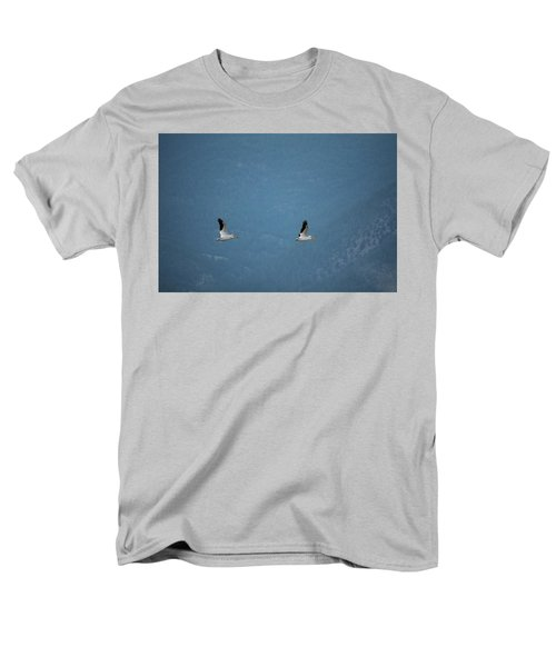 Men's T-Shirt  (Regular Fit) featuring the photograph Morning Flight by Brian Duram