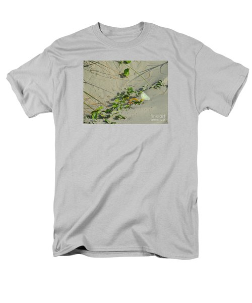 Men's T-Shirt  (Regular Fit) featuring the photograph Morning Glory At The Beach by Mim White