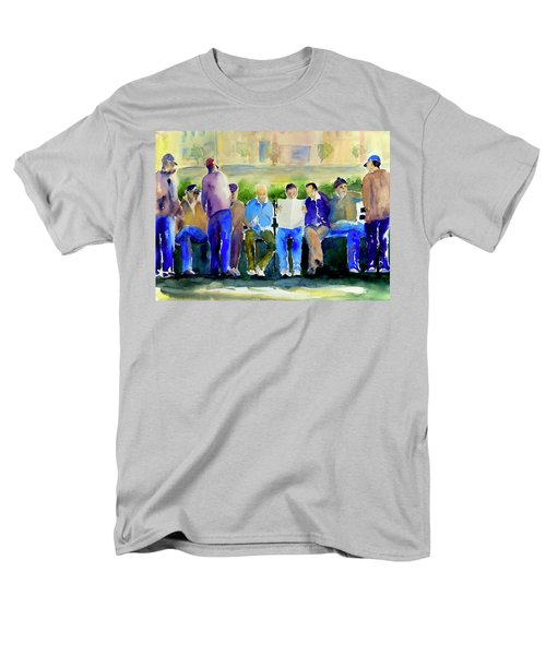 Morning Meeting In Portsmouth Square Men's T-Shirt  (Regular Fit) by Tom Simmons