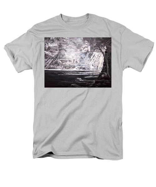 Morning Mist -theresa Falls Men's T-Shirt  (Regular Fit)