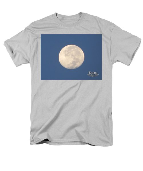 Morning Moon Men's T-Shirt  (Regular Fit) by Barbara Tristan