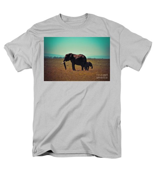 Men's T-Shirt  (Regular Fit) featuring the photograph Mother And Child by Karen Lewis