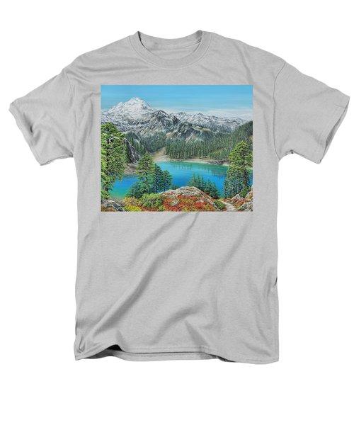 Mount Baker Wilderness Men's T-Shirt  (Regular Fit)