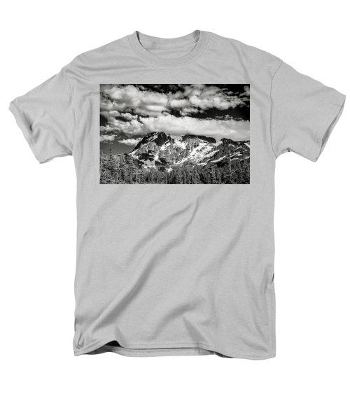 Men's T-Shirt  (Regular Fit) featuring the photograph Mount Shuksan Under Clouds by Jon Glaser