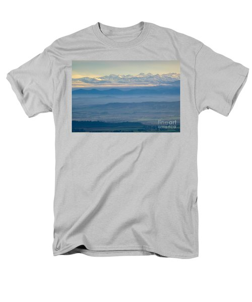 Mountain Scenery 11 Men's T-Shirt  (Regular Fit) by Jean Bernard Roussilhe