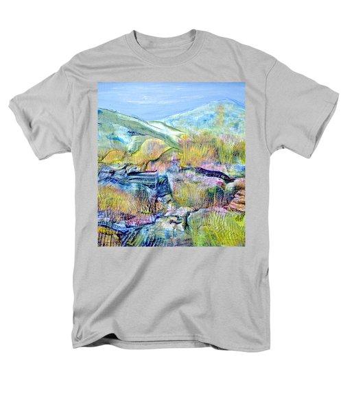 Mountains And Marsh Men's T-Shirt  (Regular Fit) by Regina Valluzzi