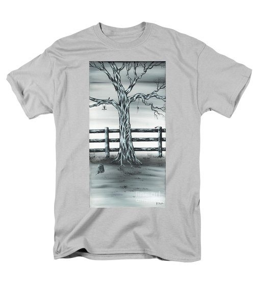 Men's T-Shirt  (Regular Fit) featuring the painting Mouse House by Kenneth Clarke
