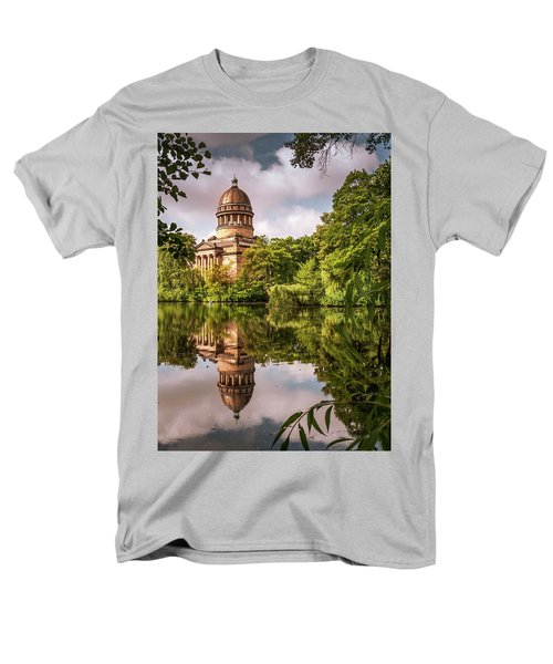Museum At The Zoo Men's T-Shirt  (Regular Fit) by Martina Thompson