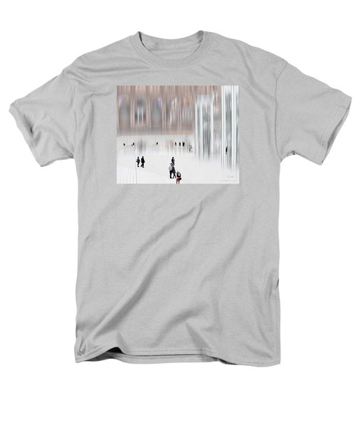 Museum Of Nothing Men's T-Shirt  (Regular Fit) by Pedro L Gili