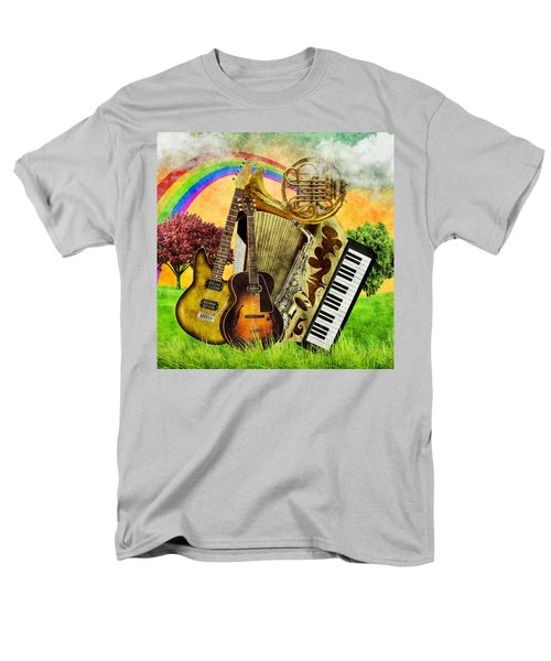 Musical Wonderland Men's T-Shirt  (Regular Fit) by Ally White