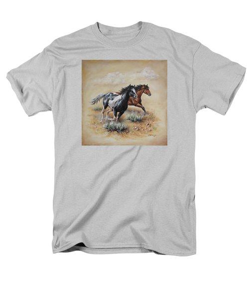 Mustang Glory Men's T-Shirt  (Regular Fit) by Kim Lockman
