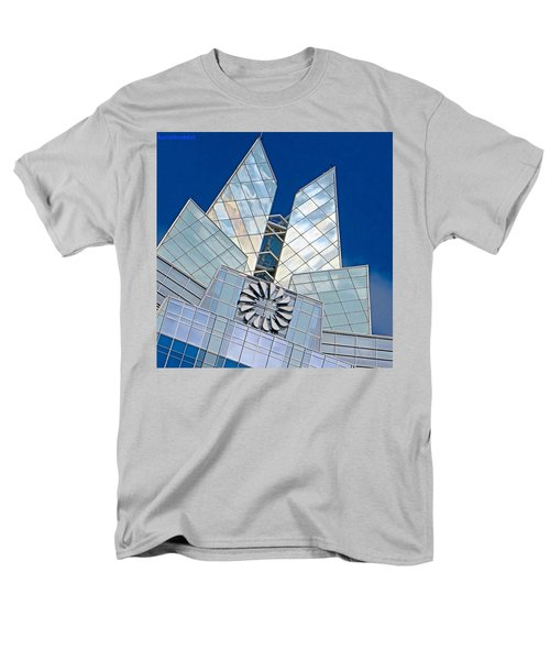 My Favorite #building In #myhometown Men's T-Shirt  (Regular Fit) by Austin Tuxedo Cat