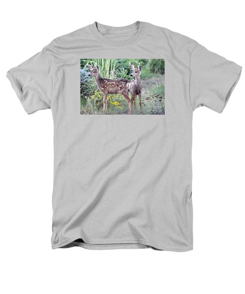 Men's T-Shirt  (Regular Fit) featuring the photograph Me And My Shadow  by Juls Adams