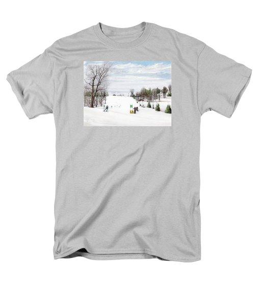 Nastar At Seven Springs Mountain Resort Men's T-Shirt  (Regular Fit) by Albert Puskaric