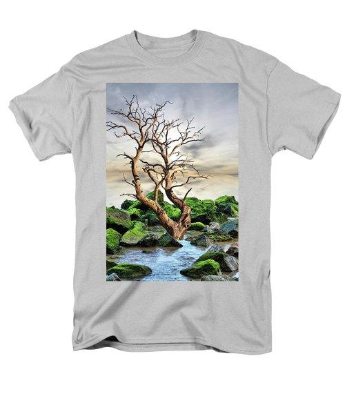Men's T-Shirt  (Regular Fit) featuring the photograph Natural Surroundings by Angel Jesus De la Fuente